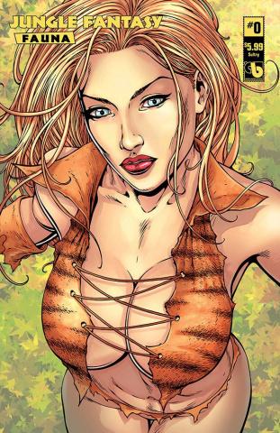 Jungle Fantasy: Fauna #0 (Sultry Cover)