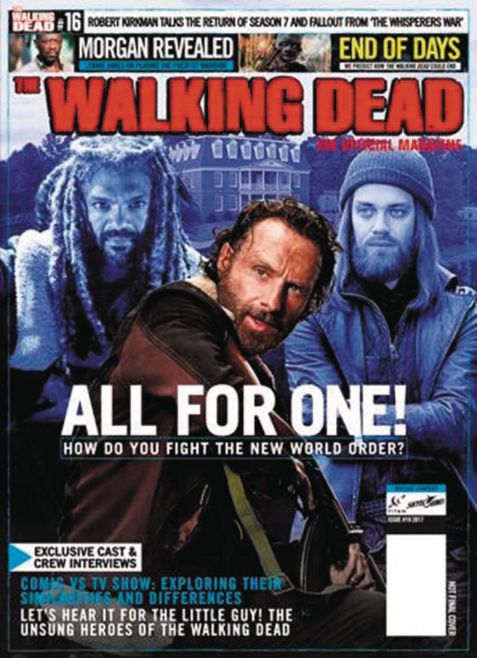 The Walking Dead Magazine #19 (Newsstand Edition)