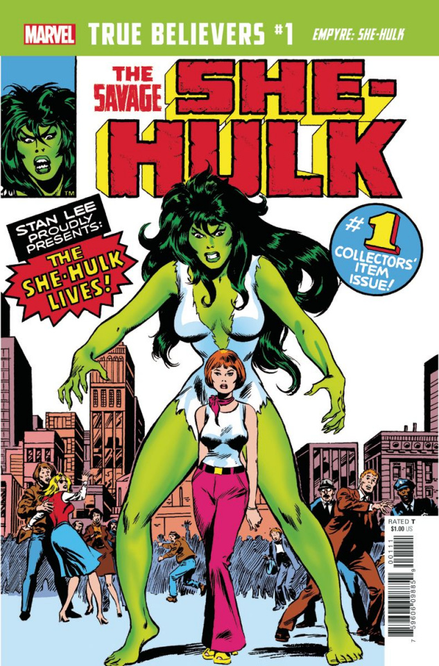 Empyre: She-Hulk #1 (True Believers)
