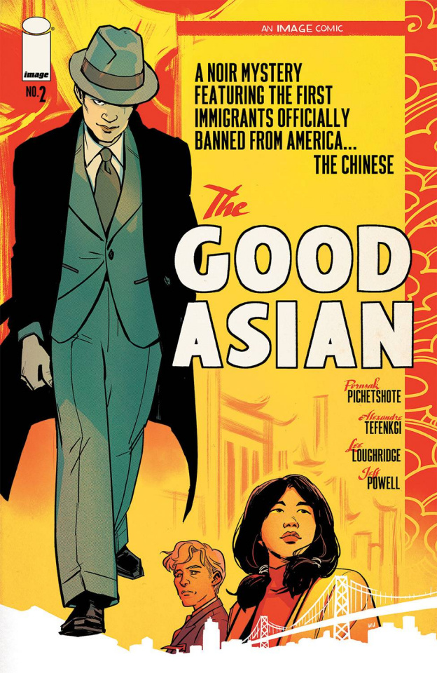 The Good Asian #2 (Wu Cover)