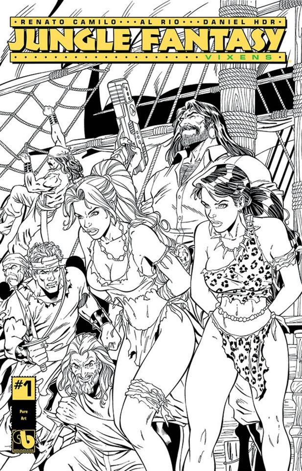 Jungle Fantasy: Vixens #1 (Pure Art Cover)