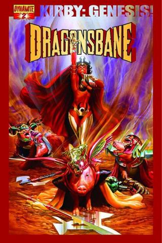 Kirby Genesis: Dragonsbane #2