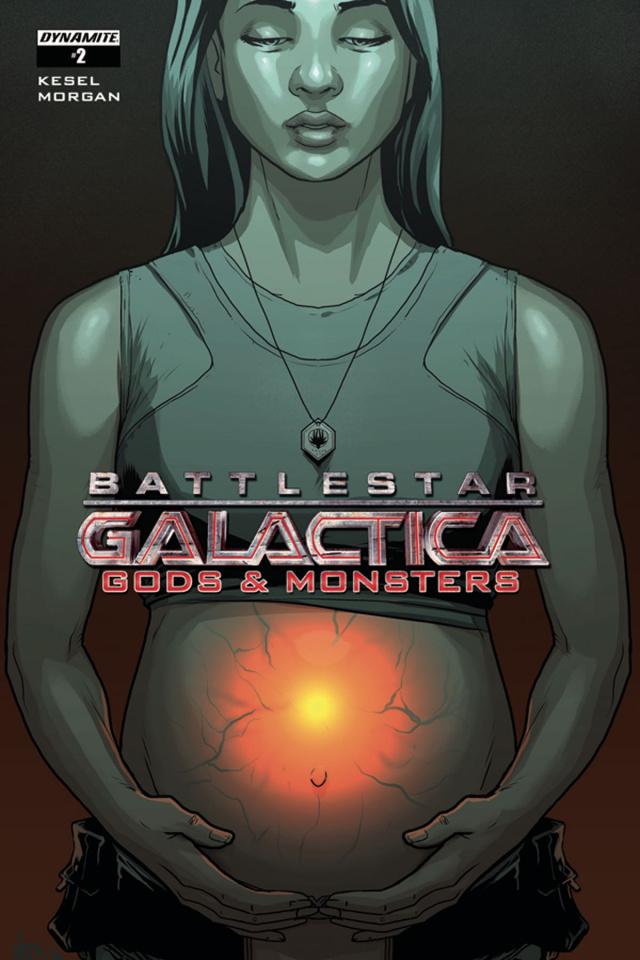 Battlestar Galactica: Gods & Monsters #2 (Woods Cover)