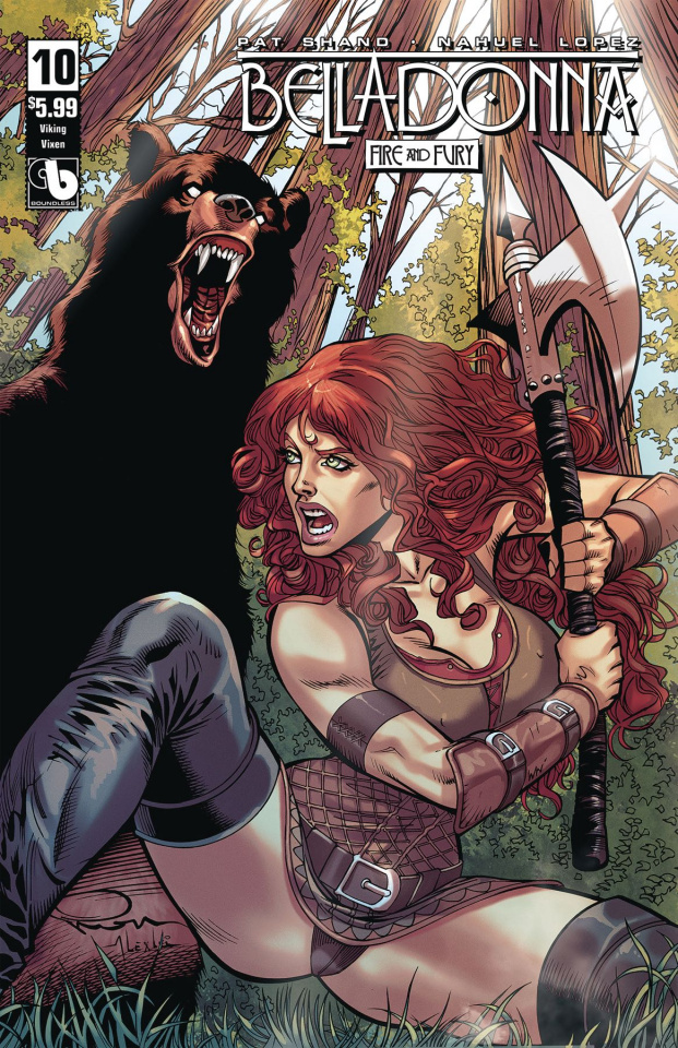 Belladonna: Fire and Fury #10 (Viking Vixen Cover)