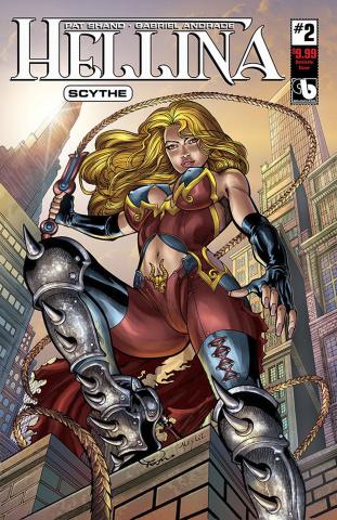Hellina: Scythe #2 (Dominate Cover)