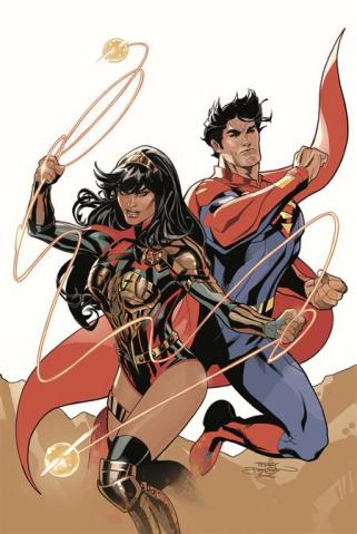 Future State: Superman / Wonder Woman #2 (Terry Dodson & Rachel Dodson Card Stock Cover)
