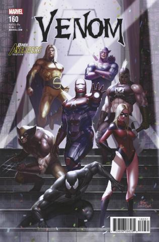 Venom #160 (Inhyuk Lee Avengers Cover)