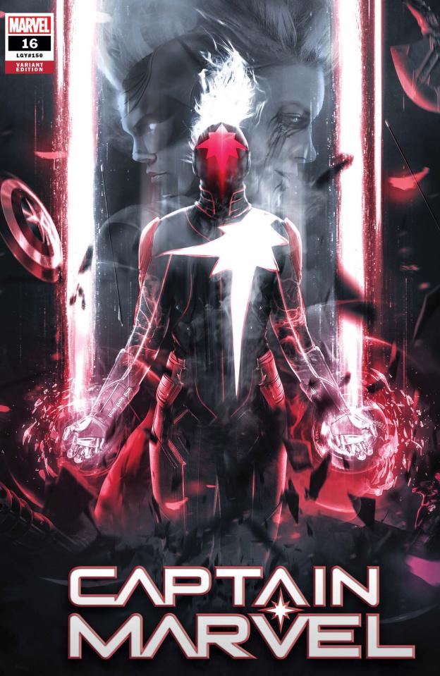 Captain Marvel #16 (Boss Logic Cover)