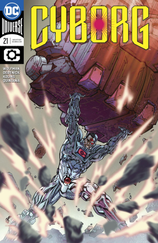 Cyborg #21 (Variant Cover)
