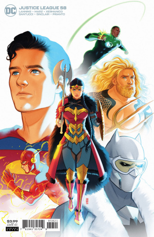 Justice League #58 (Jen Bartel Cover)