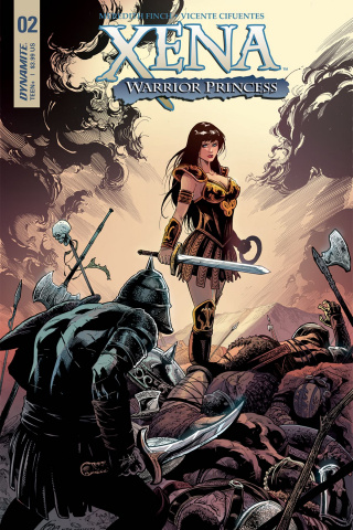 Xena #2 (Cifuentes Cover)