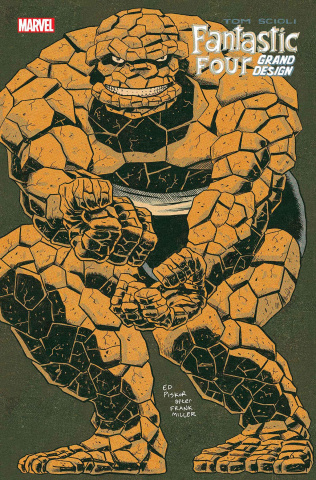 Fantastic Four: Grand Design #1 (Piskor Cover)