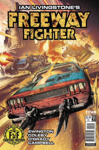 Freeway Fighter #1 (Coleby Cover)