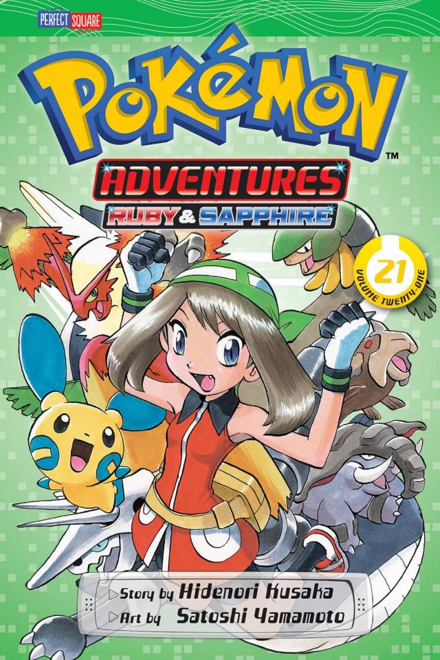 Pokemon Adventures: Ruby & Sapphire Vol. 21