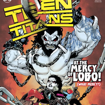 Teen Titans #33 (Dark Gifts Cover)
