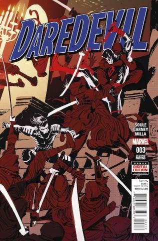 Daredevil #3 (Garney 2nd Printing)