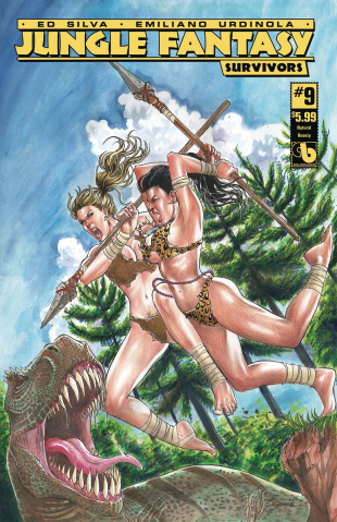 Jungle Fantasy: Survivors #9 (Natural Beauty Cover)