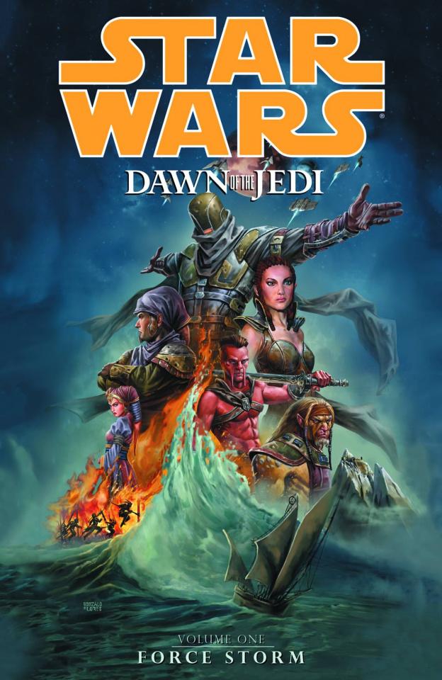 Star Wars: Dawn of the Jedi Vol. 1: Force Storm