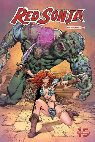 Red Sonja #9 (7 Copy Castro Cover)