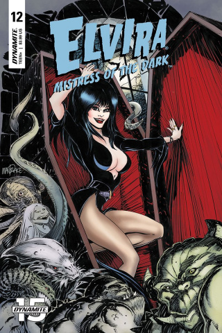 Elvira: Mistress of the Dark #12 (Mandrake Cover)