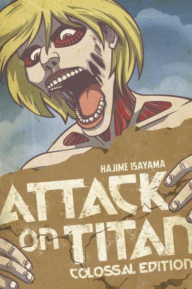 Attack on Titan Vol. 4 (Colossal Edition)