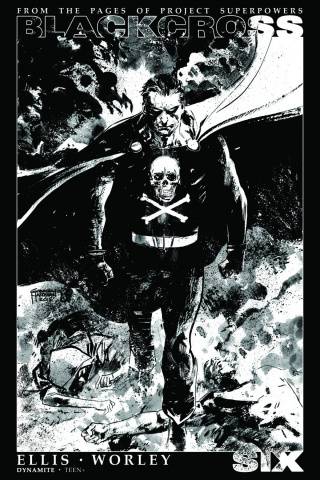Blackcross #6 (35 Copy Hardman B&W Cover)