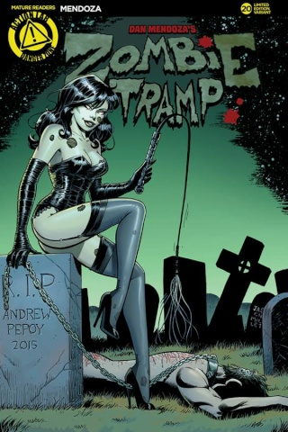 Zombie Tramp #20 (Pepoy Cover)