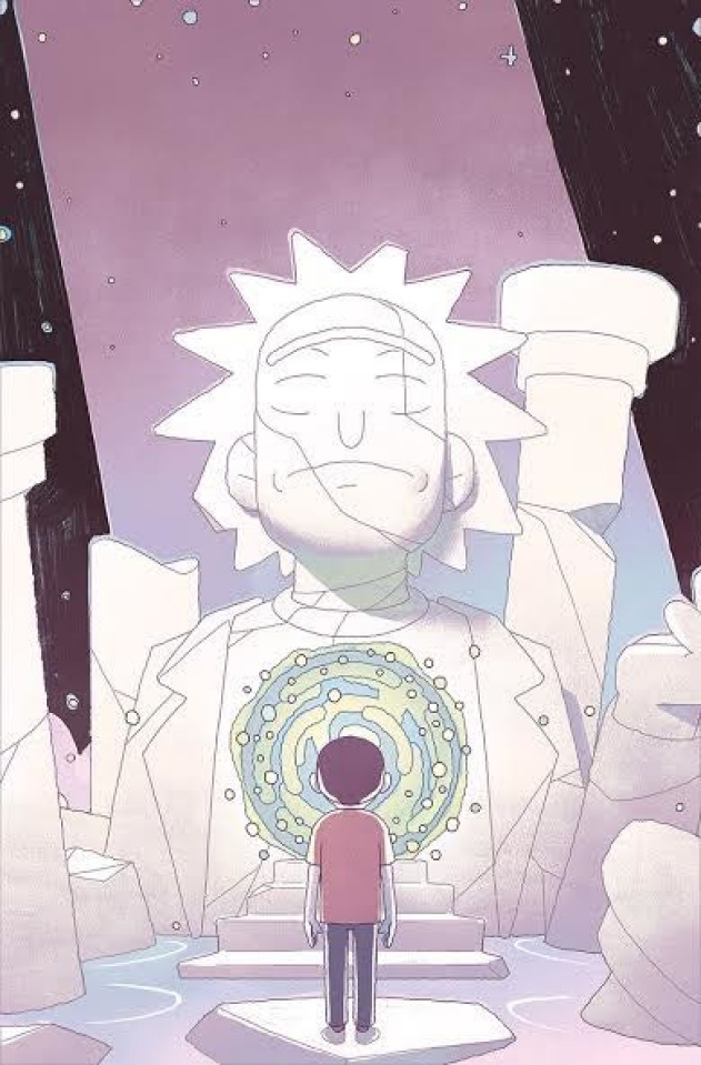 Rick and Morty #53 (Smart Cover)