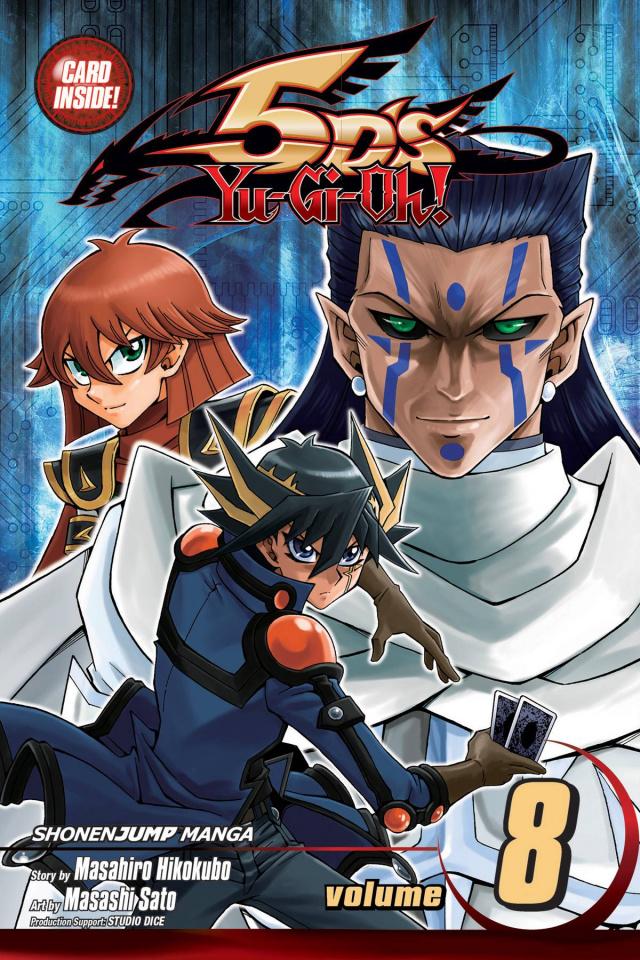 Yu-Gi-Oh! 5Ds Vol. 8