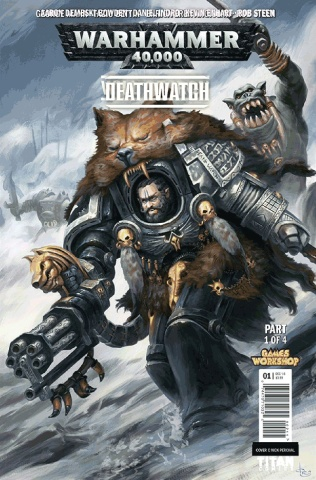 Warhammer 40,000: Deathwatch - The Lost Sons #1 (Svendsen Cover)