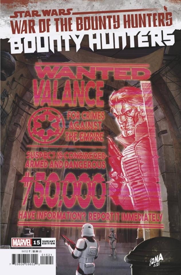 Star Wars: Bounty Hunters #15 (Wanted Poster Cover)