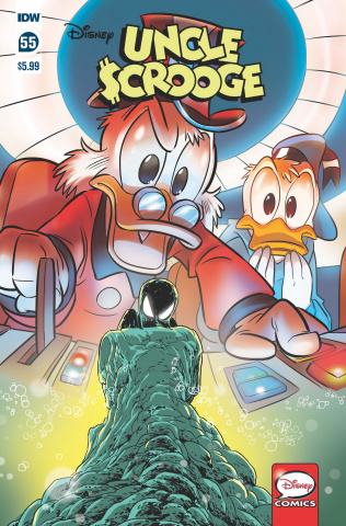 Uncle Scrooge #55 (Sciarrone Cover)