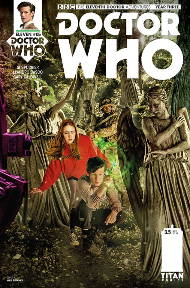 Doctor Who: New Adventures with the Eleventh Doctor, Year Three #5 (Photo Cover)