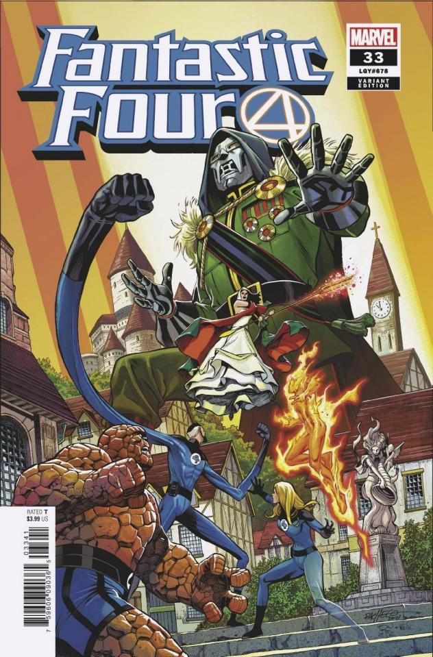 Fantastic Four #33 (Pacheco Cover)