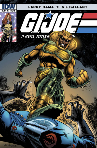 G.I. Joe: A Real American Hero #211 (Subscription Cover)