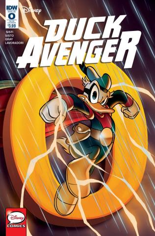Duck Avenger #0 (Subscription Cover)