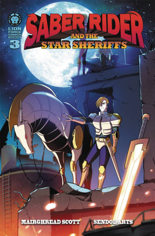 Saber Rider and The Star Sheriffs #3