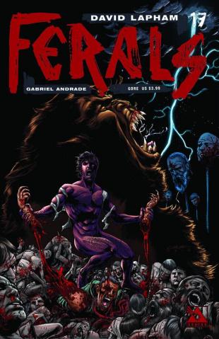 Ferals #17 (Gore Cover)
