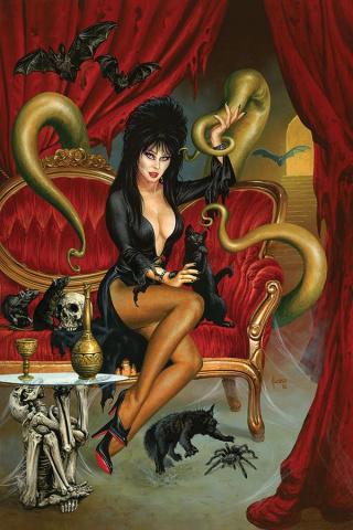 Elvira: Mistress of the Dark #8 (25 Copy Jusko Virgin Cover)