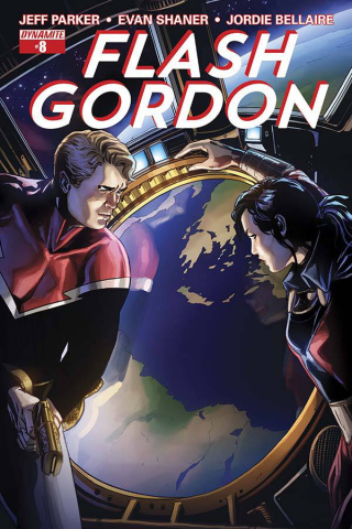 Flash Gordon #8 (Laming Cover)