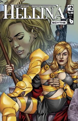 Hellina: Scythe #2 (Bad Girl Cover)