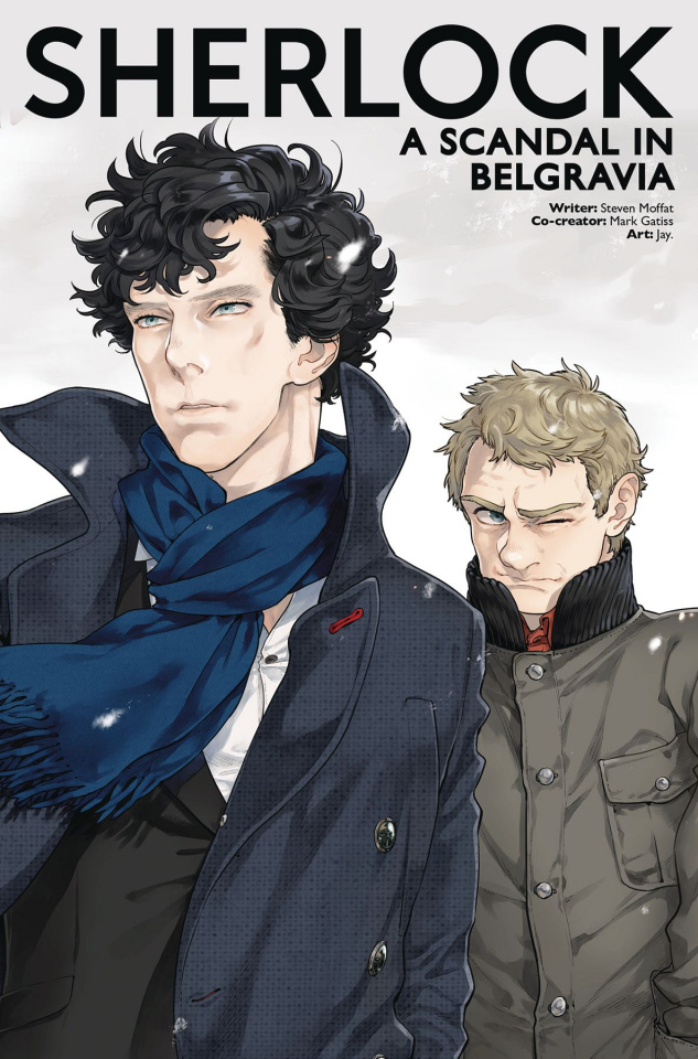 Sherlock: A Scandal in Belgravia #3 (Jay. Cover)