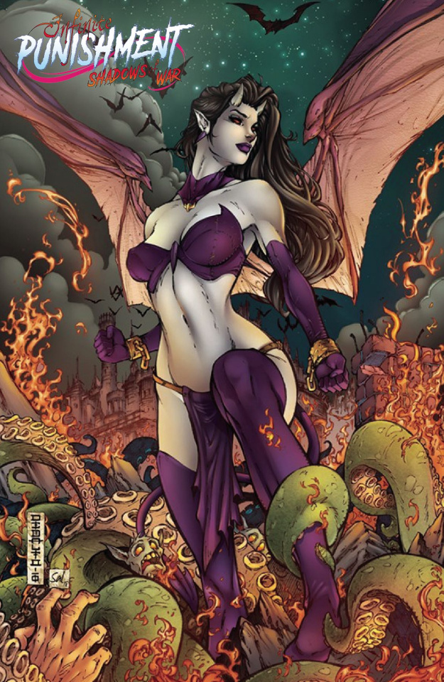 Infinite Punishment: Escape From Hell #2 (Debalfo Cover)