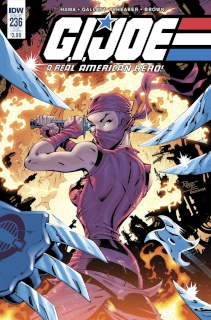G.I. Joe: A Real American Hero #236 (Subscription Cover)