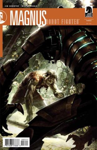 Magnus, Robot Fighter #3
