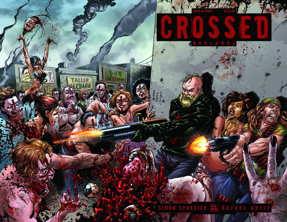 Crossed: Badlands #38 (Wrap Cover)