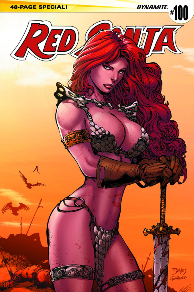 Red Sonja #100 (Benes Cover)