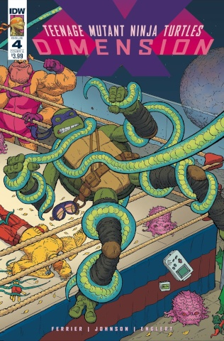 Teenage Mutant Ninja Turtles: Dimension X #4 (Pitarra Cover)