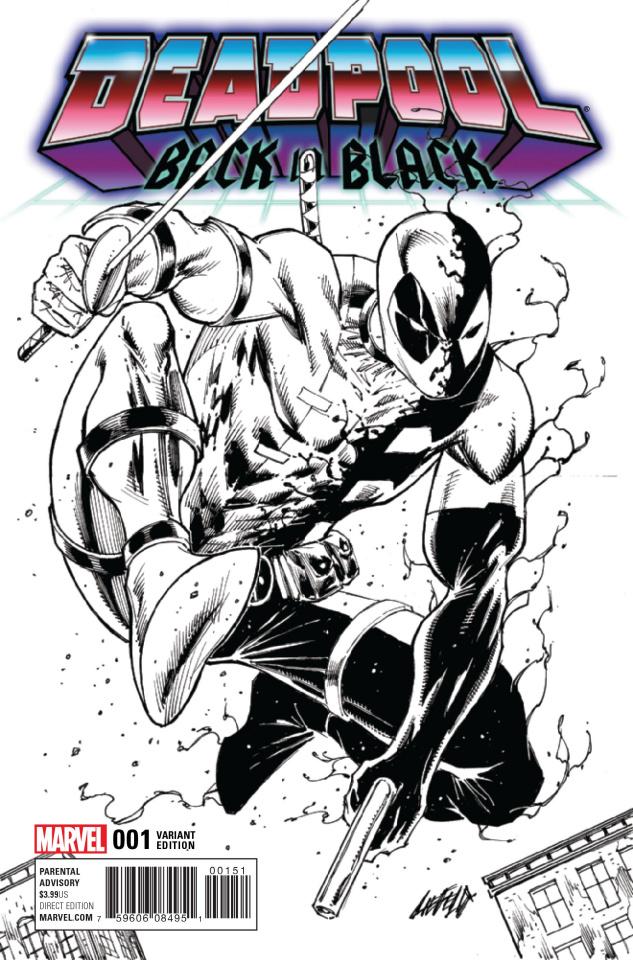 Deadpool: Back in Black #1 (Liefield Sketch Cover)
