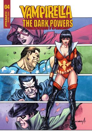 Vampirella: The Dark Powers #4 (15 Copy Copy Davila Cover)